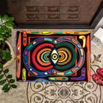 Evil Eye Doormat Decorative Colorful Doormat Indoor Outdoor Mat Gift For Family