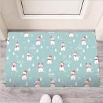 Christmas Cat Print Funny Outdoor Indoor Wellcome Funny Outdoor Indoor Wellcome Doormat
