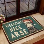 Horse Lovers  Door Mat Welcome Nice Arse