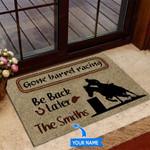 Barrel Racing Be back later Funny Outdoor Indoor Wellcome Doormat