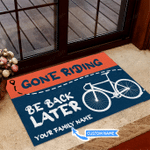 Gone Riding - Cycling Funny Outdoor Indoor Wellcome Doormat