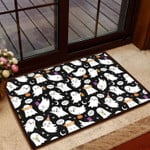 Boo Boo Halloween Doormat  Welcome Mat  House Warming Gift
