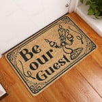 Be Our Guest Doormat  Welcome Mat  House Warming Gift