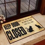 Cat Keep Door Close Carpet Living Room Doormat Indoor Outdoor Carpet For Cat Lover Pratical Gift
