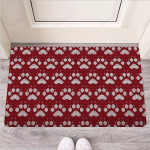 Christmas Ugly Paw Funny Outdoor Indoor Wellcome Funny Outdoor Indoor Wellcome Doormat