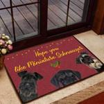 Hope you like Miniature Schnauzer Dog Funny Outdoor Indoor Wellcome Doormat
