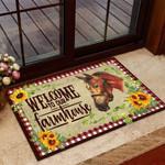 Horse Farmhouse Funny Outdoor Indoor Wellcome Doormat