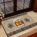 Bourbon And Paw Funny Outdoor Indoor Wellcome Doormat