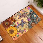 Amazing Butterfly Doormat  Welcome Mat