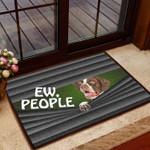 German Shorthaired Pointer Ew People - Dog Doormat  Welcome Mat