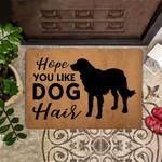 Golden Retriever Hope You Like Dog Hair Funny Outdoor Indoor Wellcome Doormat Funny Dog Funny Outdoor Indoor