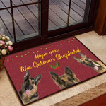 Hope you like German Shepherd Dog Funny Outdoor Indoor Wellcome Doormat
