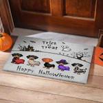 Dachshund Hallowiener Funny Outdoor Indoor Wellcome Doormat