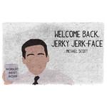3D The Office Michael Scott Welcome Back Custom Doormat