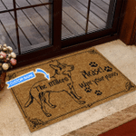 Heeler - Wipe your paws Funny Outdoor Indoor Wellcome Doormat