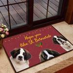 Hope you like StBernards Dog Funny Outdoor Indoor Wellcome Doormat