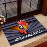 Did You Call First Doormat Funny Rooster 3D Printed Welcome Mat Best Gifts For New Homeowners