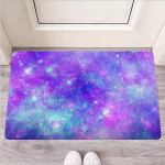 Blue And Pink Galaxy Space Funny Outdoor Indoor Wellcome Funny Outdoor Indoor Wellcome Doormat