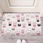 Cat Print Funny Outdoor Indoor Wellcome Funny Outdoor Indoor Wellcome Doormat