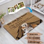 Custom Doormat Dog Doormat Personalized Doormat Pet Mat