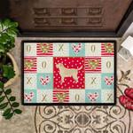 Golden Retriever Valentines Doormat Valentines Day Decor Door Mat Gift For Girlfriend