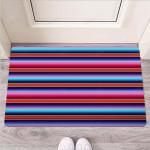 Baja Serape Funny Outdoor Indoor Wellcome Funny Outdoor Indoor Wellcome Doormat