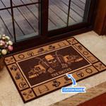 DIJ - TRUCKER Funny Outdoor Indoor Wellcome Doormat