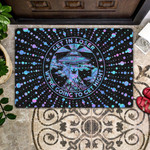 Get In Loser Were Going To Get Hight - UFO Doormat  Welcome Mat  House Warming Gift