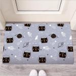 Cute Astronaut Cat Print Funny Outdoor Indoor Wellcome Funny Outdoor Indoor Wellcome Doormat