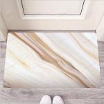 Brown Beige Marble Funny Outdoor Indoor Wellcome Funny Outdoor Indoor Wellcome Doormat