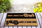 Have a good ride - Tractor Funny Outdoor Indoor Wellcome Doormat