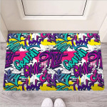 Graffiti Hiphop Print Funny Outdoor Indoor Wellcome Funny Outdoor Indoor Wellcome Doormat