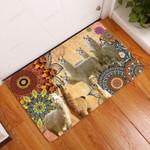 Amazing Llama Doormat  Welcome Mat