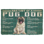 Alohazing 3D Anatomy Of A Pug Doormat