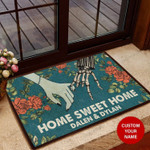 Family Home Sweet Home Personalized All Over Printing Funny Outdoor Indoor Wellcome Doormat