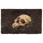Alohazing 3D Skull Bury Underground Doormat