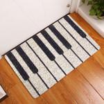 Lovers  Door Mat Piano Pattern
