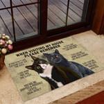 Custom Cats Funny Outdoor Indoor Wellcome Doormat