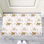 Cow Cute Print Funny Outdoor Indoor Wellcome Funny Outdoor Indoor Wellcome Doormat