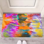 Colorful Abstract Tie Dye Funny Outdoor Indoor Wellcome Funny Outdoor Indoor Wellcome Doormat