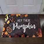 Hey There Pumpkin Autumn Doormat Hello Pumpkin Door Mat Funny Fall Welcome Mat