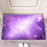 Abstract Purple Galaxy Space Funny Outdoor Indoor Wellcome Funny Outdoor Indoor Wellcome Doormat