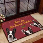 Hope you like French bulldog Dog Funny Outdoor Indoor Wellcome Doormat