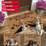 All Guest Must Be Approved By  Customized Doormat For Any Pets