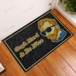 Gogh Hard And Be Nice Van Gogh Funny Outdoor Indoor Wellcome Doormat