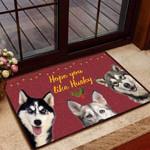 Hope you like Husky Dog Funny Outdoor Indoor Wellcome Doormat