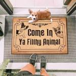 Corgi Dogs Come In Funny Outdoor Indoor Wellcome Doormat
