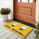 Boo Bees Hello Welcome Funny Outdoor Indoor Wellcome Doormat