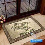 Horse Racing Funny Outdoor Indoor Wellcome Doormat