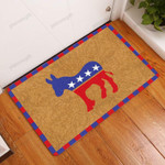 Donkey Side Doormat  Welcome Mat